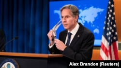 U.S. Secretary of State Antony Blinken will also deliver remarks at the meeting on evacuation efforts in Afghanistan over the past two weeks. (file photo)