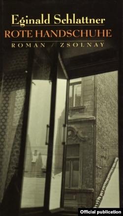 """""""Mănuşi roşii"""" (coperta romanului, 2000)"""