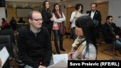 Konferencija za novinare koalicije NVO, Podgorica, 14. decembar 2012.