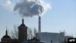Uzină de incinerare a deșeurilor în suburbia Moscovei