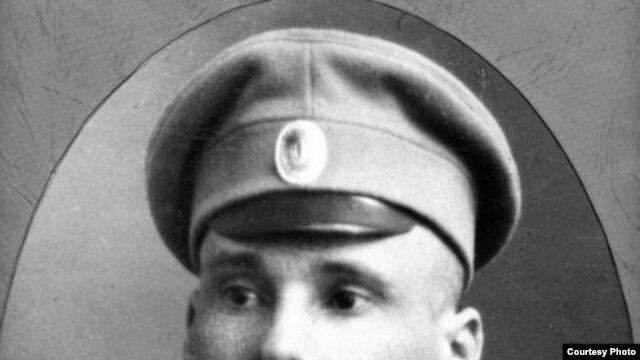 Якуб Колас падчас Першай усясьветнай вайны