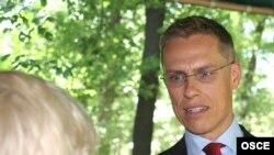 Александр Стубб, ЕҚЫҰ-ның қазіргі төрағасы