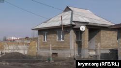 Дом в районе самостроев крымских татар, который должны снести в Симферополе