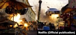 "Netflix's action-packed thriller is set in a ""fictional"" Central Asian dictatorship. film tv series"