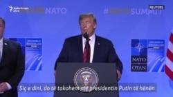 """Trump: Putin """"konkurent"""" dhe jo """"armik"""""""