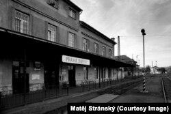 Здание вокзала Прага-Бубны, где будет располагаться мемориал