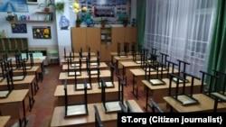 В одной из школ Узбекистана.