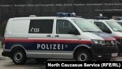 Машина австрийской полиции, Вена