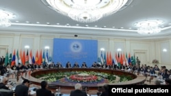 ШКУнун Ташкент саммити. 2016-жыл.