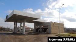 Автозаправна станція Shell у Керчі, 9 січня 2018 року