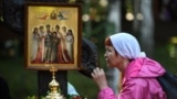 A religious procession in memory of the last tsar and his family is held in Yekaterinburg on July 17, 2017.