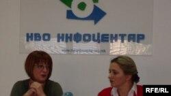 Македонскиот невладин сектор - Лидија Димова од Центарот за европско образование и Фани Каранфилова Пановска од Сорос