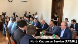Заседание Координационного штаба Абхазии по защите населения от коронавируса