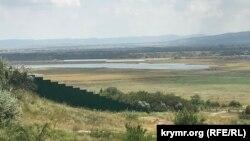 Тайганское водохранилище, август 2021 года