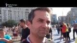 Barnaș Ionel din Germania, declarații înainte de începerea protestului de la București