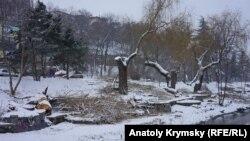 Симферополь лишают деревьев и парков