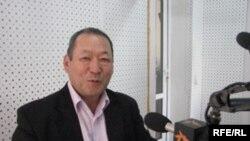 Кандидат в президенты Кыргызстана, бывший спикер парламента Алмамбет Матубраимов.