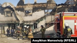 Сгоревшие дома, спецназ на улицах. Как сейчас выглядит село Масанчи