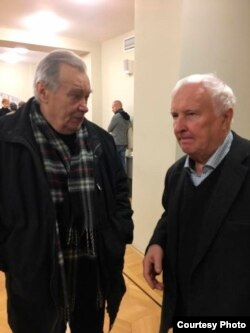Алексей Порай-Кошиц и Эдуард Кочергин