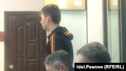 Эльмаз Мусин в суде в феврале 2018 года