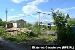 Цыганский дом, рядом с которым начался конфликт