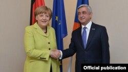 Հայաստանի նախագահի և Գերմանիայի կանցլերի հանդիպումներից, արխիվ