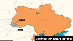 Ukraine's Zakarpattia region (Click to enlarge)
