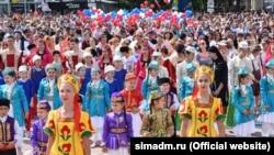 День России в Симферополе, 12 июня 2017 года