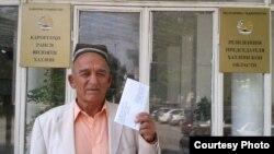 Шамси Зариф, сокини ноҳияи Восеъ.