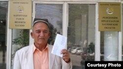 Шамси Зариф, 75-летний житель Таджикистана.