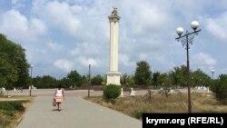 Площадь Георгия Победоносца в парке Победы