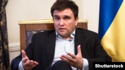 Ukrainian Foreign Affairs Minister Pavlo Klimkin (file photo)
