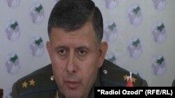 Командующий пограничными войсками Таджикистана Раджабали Рахмонали.