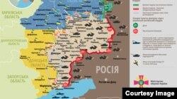 21 июньгә Украина көнчыгышындагы вазгыять