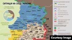Ситуация на востоке Украины 21 июня