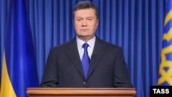Վիկտոր Յանուկովիչը հայտարարությամբ է հանդես գալիս, 19-ը փետրվարի, 2014թ․