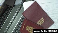 Indeks i pasoš Srbije - ilustracija