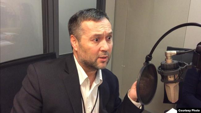Журналист Радио Озодлик Сирожиддин Толибов. Прага, 24 января 2018 года.