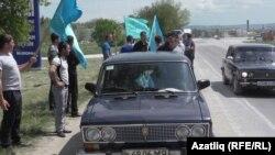 Кырымда Карасубазарда автойөреш