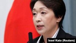 Министър Сейко Хашимото, която отговаря за провеждането на Олимпийските игри от японска страна. Снимката е архивна.