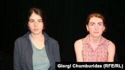 ჟურნალისტები: ლიკა ზაკაშვილი და სალომე გორგოძე