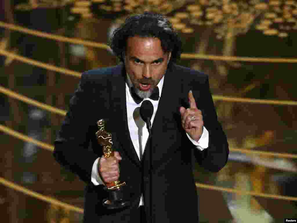 «Оскара» в номінації кращий режисер отримав Алехандро Іньярріту, який зняв фільм «Легенда Г'ю Гласса» із ДіКапріо у головній ролі
