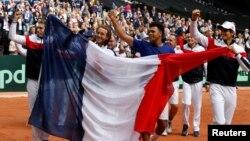 Slavlje tenisera Francuske