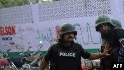 Pjesëtarë të policisë pakistaneze