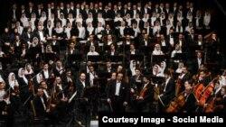 یکی از اجراهای ارکستر سمفونیک تهران به رهبری علی رهبری