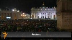 Рим папасы Францискның беренче чыгышы