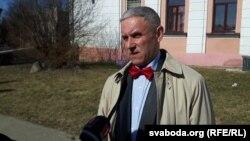 Славамір Адамовіч перад вынясеньнем прысуду даў камэнтар Беларускай тэлевізіі