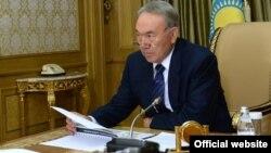 Нурсултан Назарбаєв у лютому 2014 року
