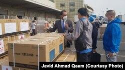 Транспортировка в Афганистан вакцин против коронавируса, подаренных Китаем