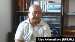 Руководитель общества инвалидов «Демеу» Ахат Узакбаев, Алматинская область, октябрь 2015 года.